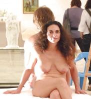 Sexig mogen modell från Israel i sexbilder